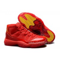 "Shop Air Jordan 11 Retro ""Red October"" Red/Varsity Maize For Mens Online Cheap To Buy"