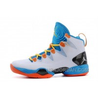 Russell Westbrook Air Jordan XX8 SE PE White-Orange/Photo Blue For Sale Discount