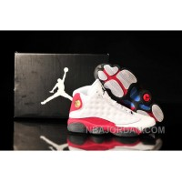 Air Jordan 13 White Black Varsity Red Super Deals