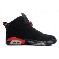 New Air Jordan 6 Retro Black/Infrared Christmas Deals