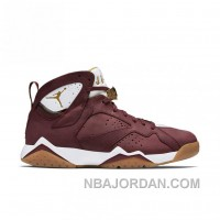 Authentic 725093-630 Air Jordan 7 Retro C&C Team Red/Metallic Gold-Sail-Gum Light Brown Online
