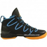 Air Jordan 28 (XX8) SE Black/Atomic Mango-Dark Powder Blue 616345-036 Online