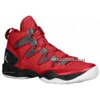 Air Jordan 28 (XX8) SE Gym Red/White-Wolf Grey 616345-601 Discount