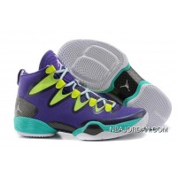 Air Jordan 28 (XX8) Purple Yellow Green Shoes For Men On Sale Copuon Code