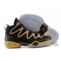 Buy 100% Michael Jordan 28 Shoes Oscars Gold Black Authentic