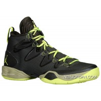 Air Jordan 28 Sneakers Squadron Green Volt-Black 616345-305 Super Deals
