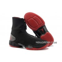 Men's Nike Air Jordan 28 Shoes Black/Red Authentic