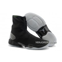 Men's Nike Air Jordan 28 Shoes Black/White Free Shipping