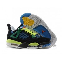 Nike Air Jordan 4 Womens Basketball Shoes Multicolor For Sale