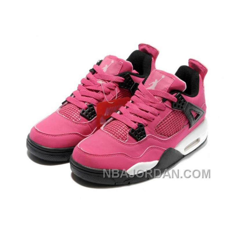 nike air 4 womens basketball shoes pink white top