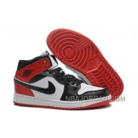 Coupon For Nike Air Jordan I 1 Womens Shoes White Black Red Hot Black Friday Deals