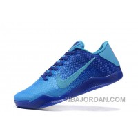 Nike Kobe 11 Low Full Blue Mens Basketball Shoes For Sale For Sale