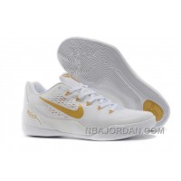 Nike Kobe 9 Low EM White Gold For Sale Cheap To Buy