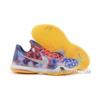 Men's NK Kobe 9 IX Low Elite Independence Day Basketball Shoes Free Shipping