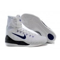 Cheap Kobe 9 Elite High Top Id White Black Purple Discount