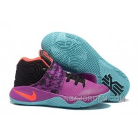 "Nike Kyrie 2 ""Easter"" Purple/Mint-Red-Black New Release"