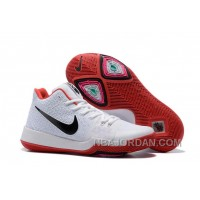 Nike Kyrie 3 Mens BasketBall Shoes White Red Super Deals