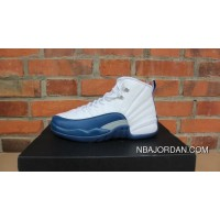 AJ12 French Blue Label Women Shoes Picking Jordan 12 French Blue 153265-113 New Style