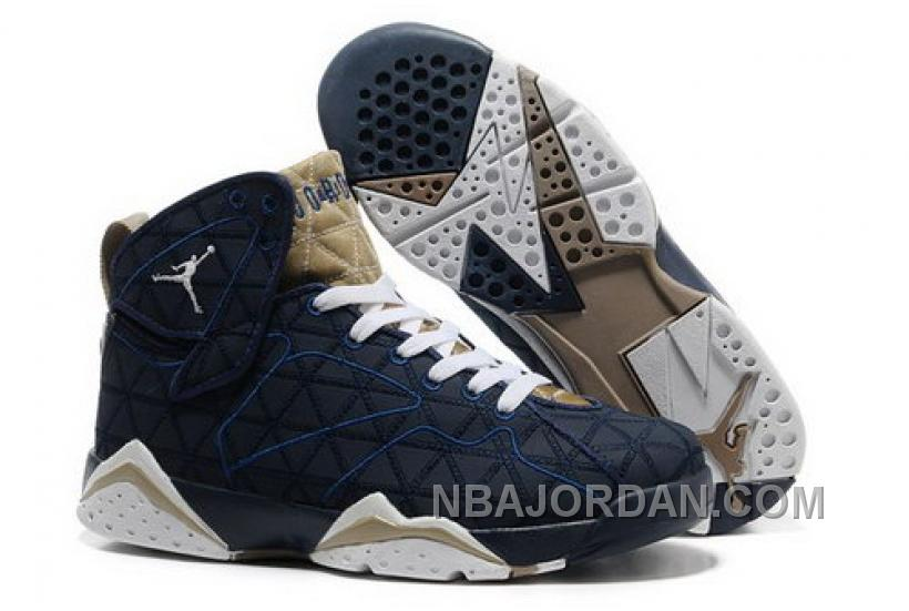 air jordan vii 7 retro mens shoes blue white