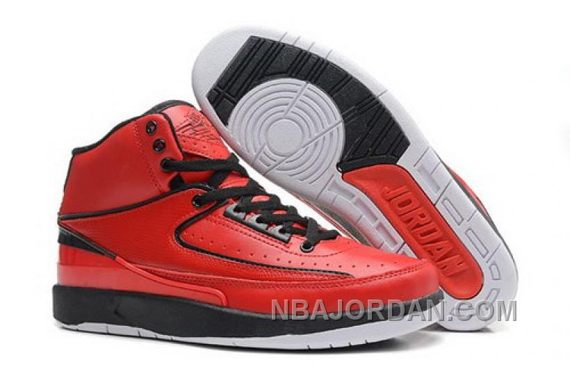 Sweden Nike Air Jordan 2 Ii Mens Shoes 2014 Red Online